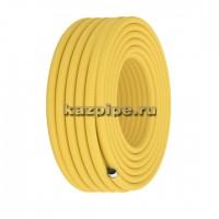 Труба Flexy ТP-15А отожженная в желтой оболочке (газ) VVM